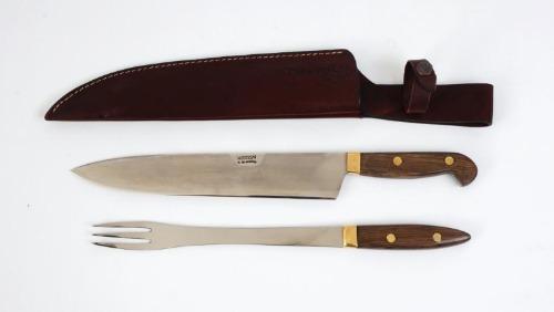 Juego Mission Cuchillo Tenedor Parrilla Hoja 27 Cm. Fábrica!