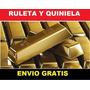 Sistemas De Quiniela + Metodos De Loteria Y Ruleta + Regalos