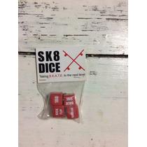 Juego De Dados De Skate - Sk8 Dice