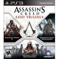 Assassins Creed Trilogy // Nuevo Y Sellado Para Ps3