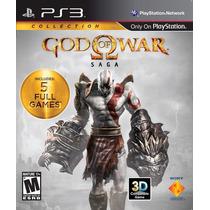 God Of War Saga Nuevo Ps3 Dakmor Canje/venta