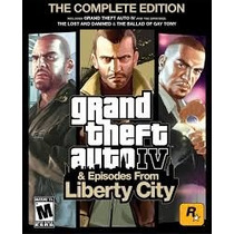 Gta 4 & Episodes From Liberty City. Con Guía Definitiva