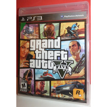 Gta 5 Grand Theft Auto 5 Gta V Ps3 Original Sellado Ttg