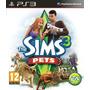 Sims 3 Pets, Ps3 Disco Fisico, Nuevo Y Sellado