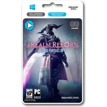 Final Fantasy Xiv: A Realm Reborn Para Pc Original!!!