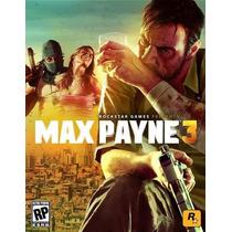 Max Payne 3 En Español Para Pc!!!