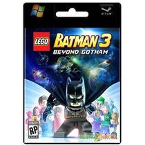 Lego Batman 3 Beyond Gotham Juego Pc Original Platinum