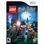 Wii Lego Harry Potter 1-4 Años+dvd Movie. Nuevos Y Cerrados!
