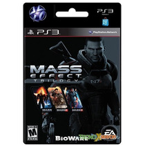 | Mass Effect Trilogy Juego Ps3 Store Microcentro |