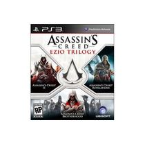 Ps3 Assassin`s Creed Ezio Trilogy * Nuevo Y Sellado * 3 En 1