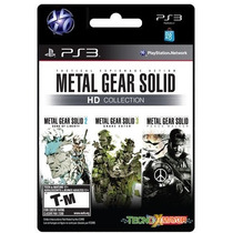 Metal Gear Solid Hd Collection Juego Ps3 Store Microcentro