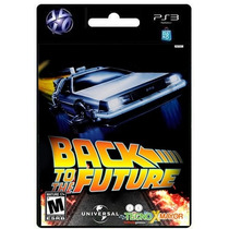 Back To The Future Video Game Juego Ps3 Store Microcentro