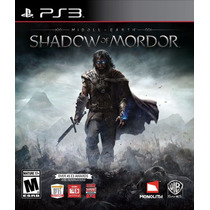 Middle Earth Shadow Of Mordor Legion Ed Ps3 30-sep *psntech*