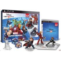 Ps3 Disney Infinity Marvel Super Heroes 2.0 Starter Pack