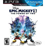 Disney Epic Mickey 2 The Power Of Two Nuevo Ps3 Dakmor
