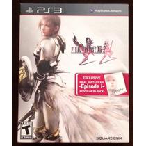 Final Fantasy Xiii-2 Ps3 Edicion Limitada