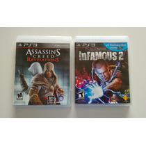 Pack 2 Juegos Ps3 Assassins Creed Revelations Y Infamous 2