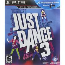 Juego Ps3 - Just Dance 3 - Requiere Move - Formato Fisico