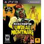 Juego Ps3 - Red Dead Redemption: Undead Nightmare