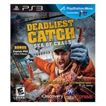 Deadliest Catch - Sea Of Chaos - Nuevo - Move Compatible
