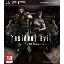 Resident Evil Hd Remaster Ps3 Digital