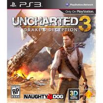 El Mejor Juego Ps3 Uncharted 3 : Drakes Deception En Español