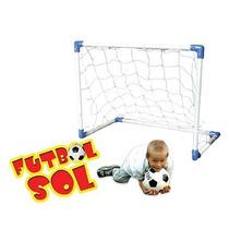 Arco Futbol Metal Chico 100x80x60 Cm - Juegosol Ploppy 49804