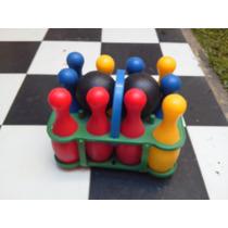 Juego Bowling Infantil , Poco Uso