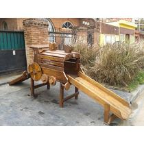 Mangrullo Locomotora Madera Tobogan