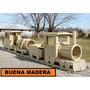 Tren De Madera Juegos Al Aire Libre // Buena Madera
