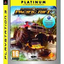 Motorstorm Pacific Rift Platinum Espanol, Nuevo Y Sellado