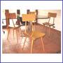 Una Silla (4 Disponibles). Americana Retro Vintage 60s 70s