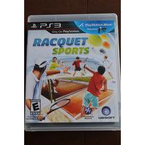Juego Playstation Ps3 Racquet Sports - Como Nuevo. Para Move