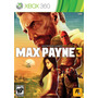 Juego Max Payne 3 Xbox 360 Ntsc Original Español 2 Cd