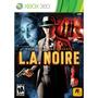 Juego La Noire Xbox 360 Ntsc Español 3 Cds