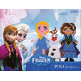 Pixi Frozen Disney Canutillos Para Armar - Tuni 222
