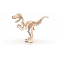 Rompecabeza Didactico 3d Dinosaurio Velociraptor