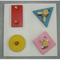 Ensartado Geometrico Rosca Dificultad Material Didactico