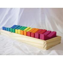 Figuras Geométricas De Madera Waldorf - Montessori