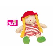Muñeco De Tela Julia Para Nena-marca Ks Kids