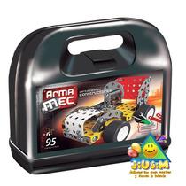 Armamec T/mecano 95 Pzas, C/herramientas Verdaderas! Jiujim