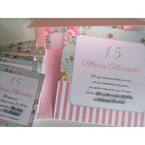Pack Invitaciones Tarjetas De Casamiento 15 Años Bautismo