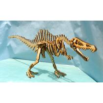 Dinosaurios Para Armar En Mdf 3mm- Spinosaurio - Nvm Hobbies
