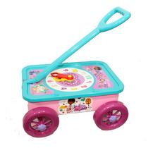 Carro Didactico Con Reloj Doctora Juguete Bebe Niños Lelab
