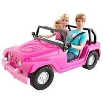 Jeep Auto Barbie P Munecas Zafari Con Photoprint