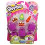 Shopkins X5 + 5 Bolsas De Compras + Guia Sipi Shop