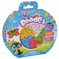 Beados Repuesto 500 Bolitas Beads Next Point - Mundo Manias