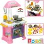 Cocina Infantil Completa C/ Horno Y Accesorios Piccola Rondi