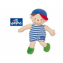 Muñeco De Tela Wayne Para Nene- Marca Ks Kids