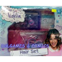 Disney Violetta Hair Set Crea Tus Propios Accesorios P/ Pelo